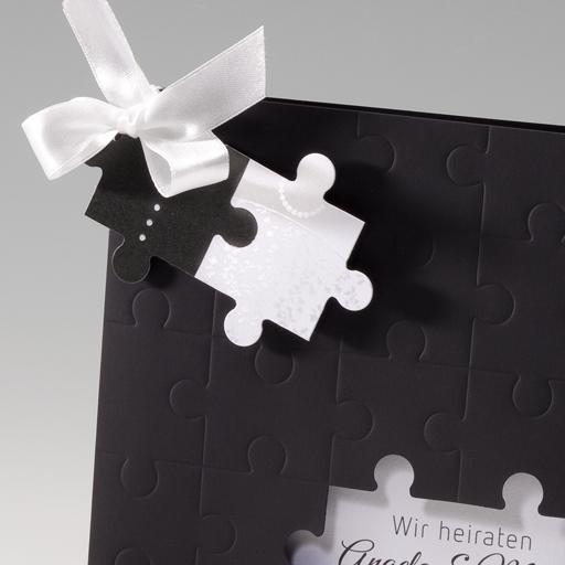 Einladungskarten Hochzeit Puzzle Biblesuite Co
